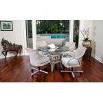 Bermuda Tilt Swivel Caster Chair