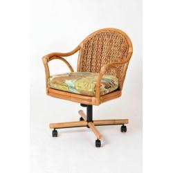 Panama Tilt Swivel Caster Dining Chair