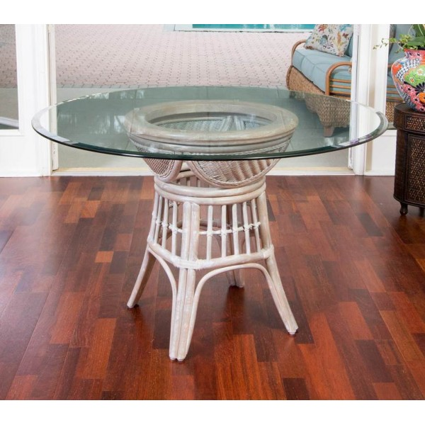 Bermuda Dining Table with Glass