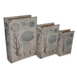 Coral Sea Book Boxes
