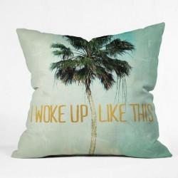 I woke Up Like This - Throw Pillow