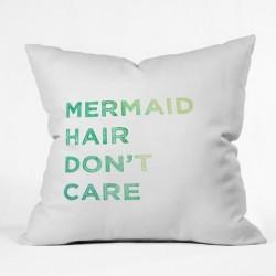 Mermaid Hair Don't Care - Throw Pillow