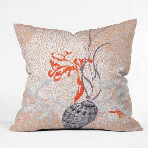 Hadley Hutton's Coral Sea Collection 2 - Throw Pillow