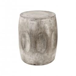 Wotran Waxed Concrete Stool