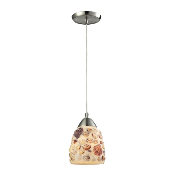 Shells 1 Light Pendant