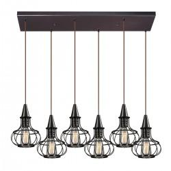 Yardley 6 Light Pendant