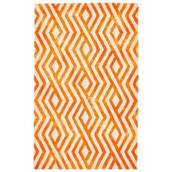 Garcia Orange Rug