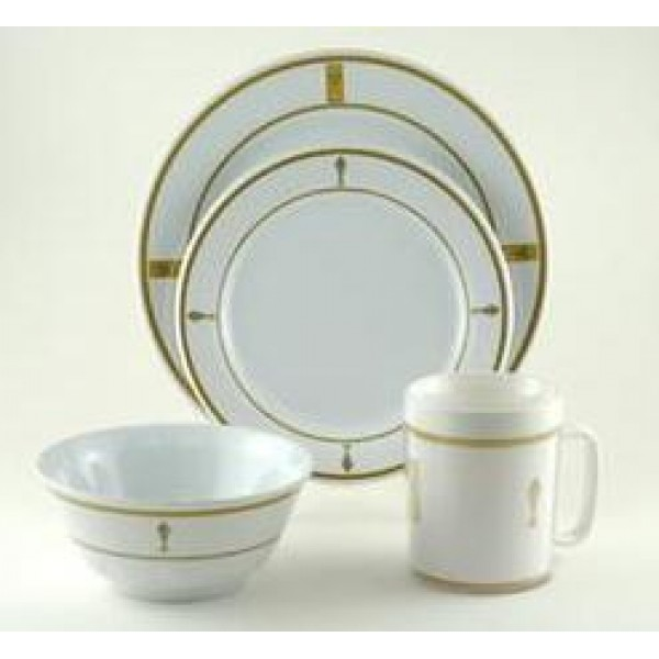 Galleyware Decrated Melamine - Gold Fish