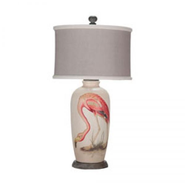 Terra Cotta Lamp VIII
