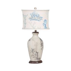 Terra Cotta Lamp XII