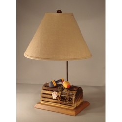 Lobster Trap Lamp