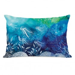 Sea Life - Multi Throw Pillow