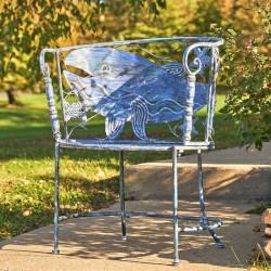 Coastal Whale Chair Set (2)